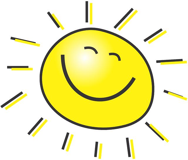 usmívající se sluníčko