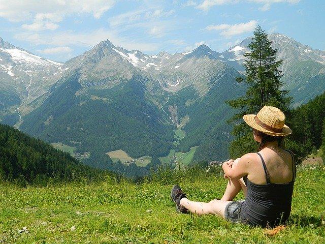 relax na horách